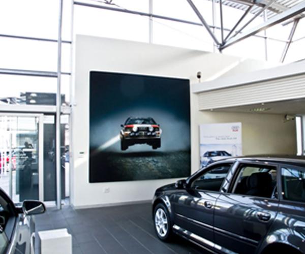 Triga Showroom Displays