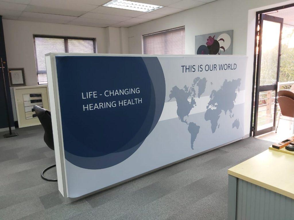 Triga Office Divider Displays