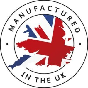 Manufactured in the UK logo